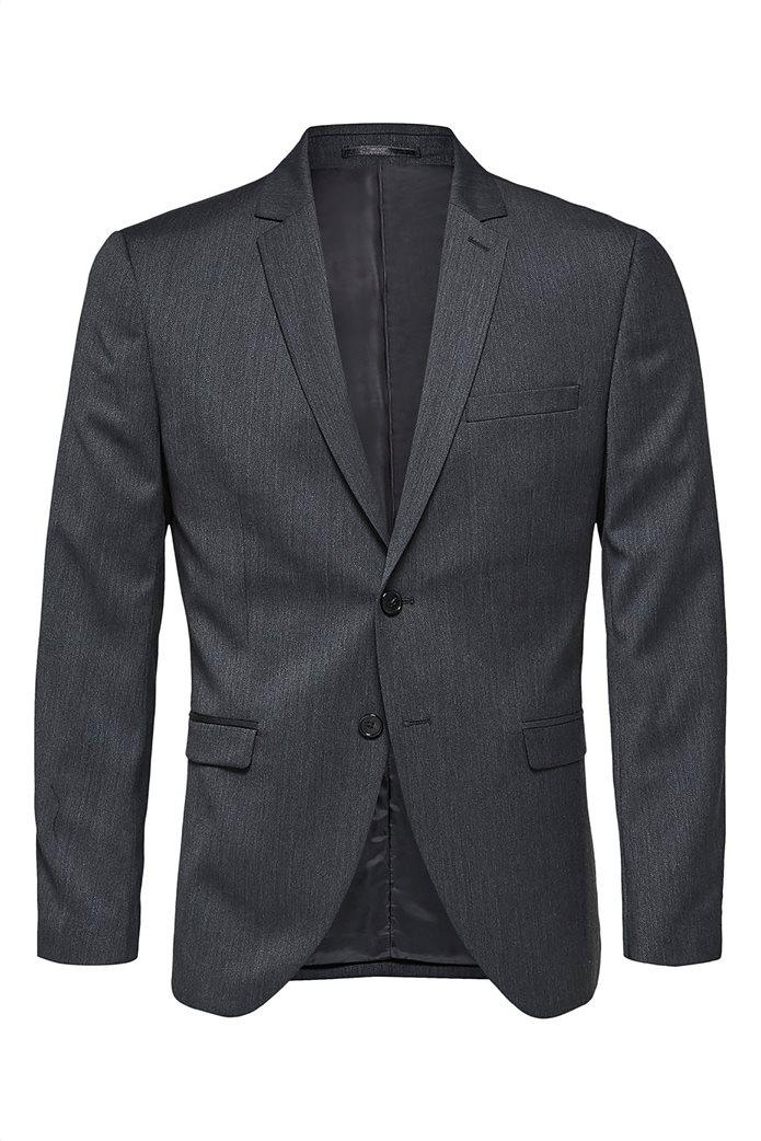 SELECTED ανδρικό σακάκι Slim fit Ανθρακί 1