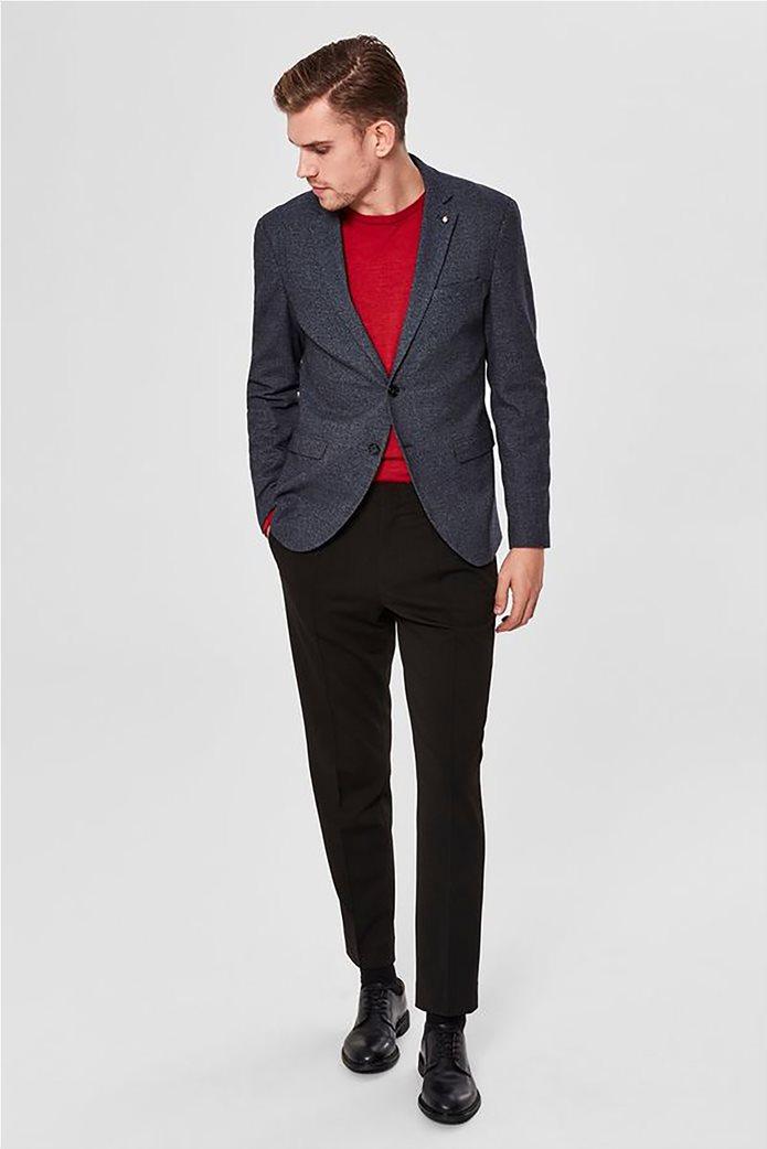 SELECTED ανδρικό βαμβακερό σακάκι Slim fit 2