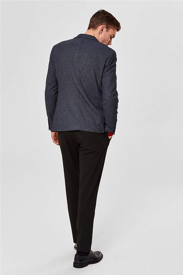 SELECTED ανδρικό βαμβακερό σακάκι Slim fit 3