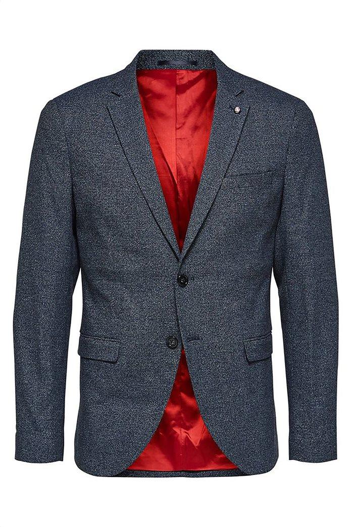 SELECTED ανδρικό βαμβακερό σακάκι Slim fit 4
