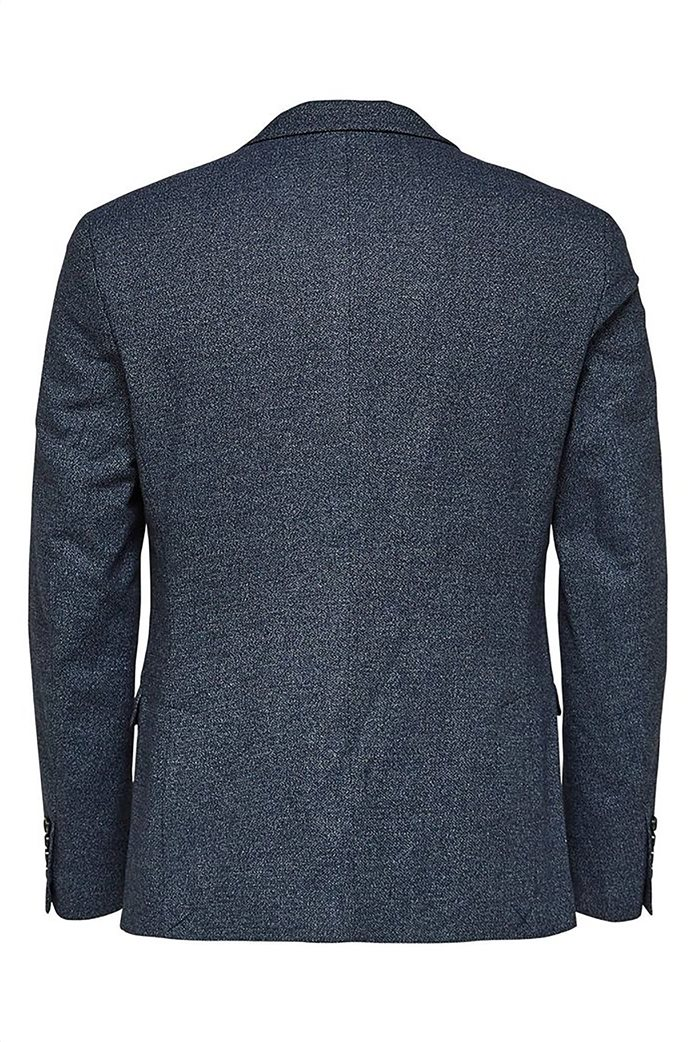 SELECTED ανδρικό βαμβακερό σακάκι Slim fit 5