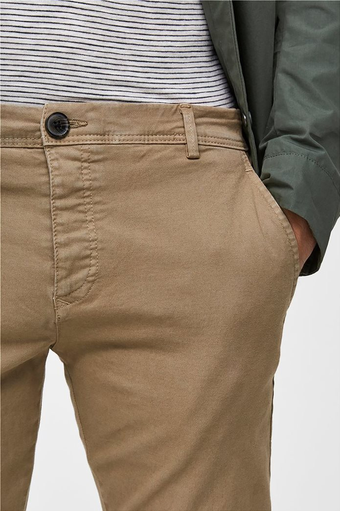 Selected ανδρικό chino παντελόνι skinny fit 2