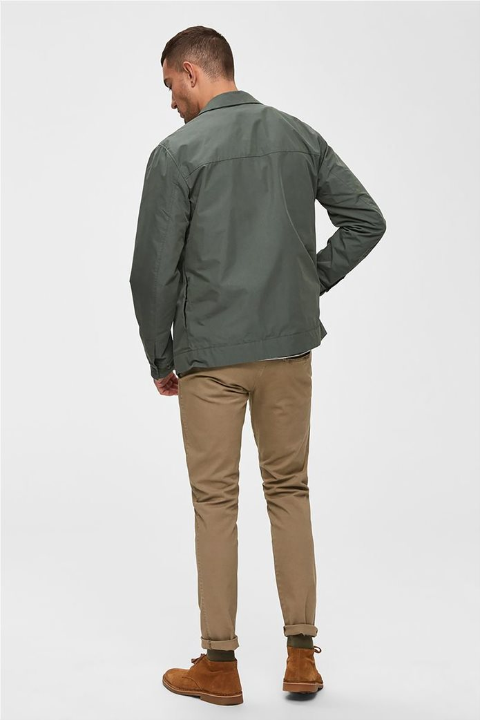 Selected ανδρικό chino παντελόνι skinny fit 3