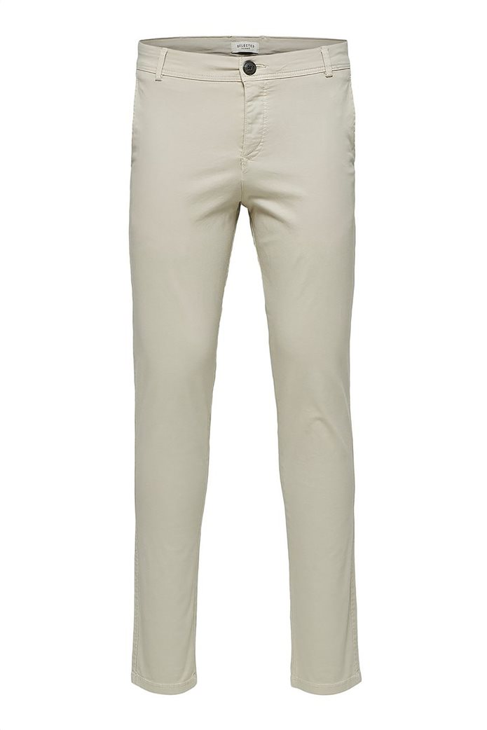 Selected ανδρικό chino παντελόνι skinny fit 4