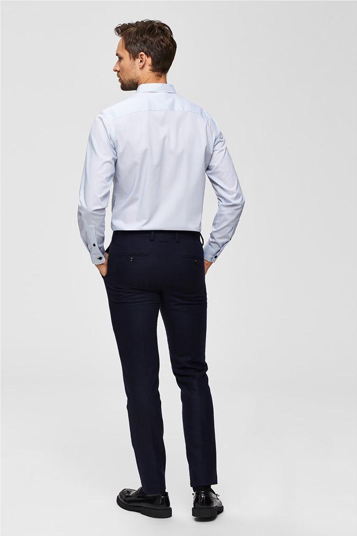 Selected ανδρικό πουκάμισο με λεπτομέρειες σε αντίθεση 3