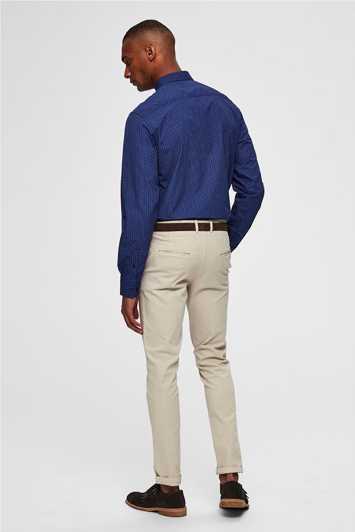 Selected ανδρικό πουά πουκάμισο Slim fit 3