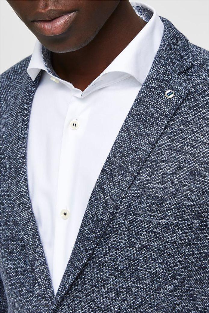 Selected ανδρικό melange σακάκι δίκουμπο Slim fit 1