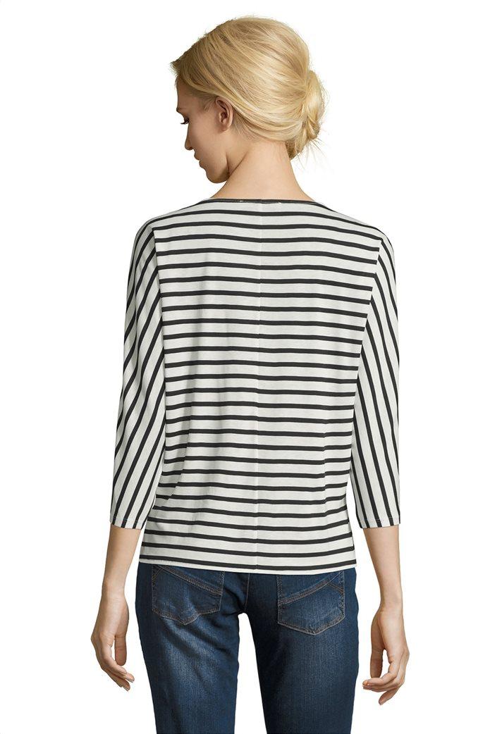 BΕΤΤΥ & CO Γυναικεία μπλούζα με φλοράλ και letter print 1
