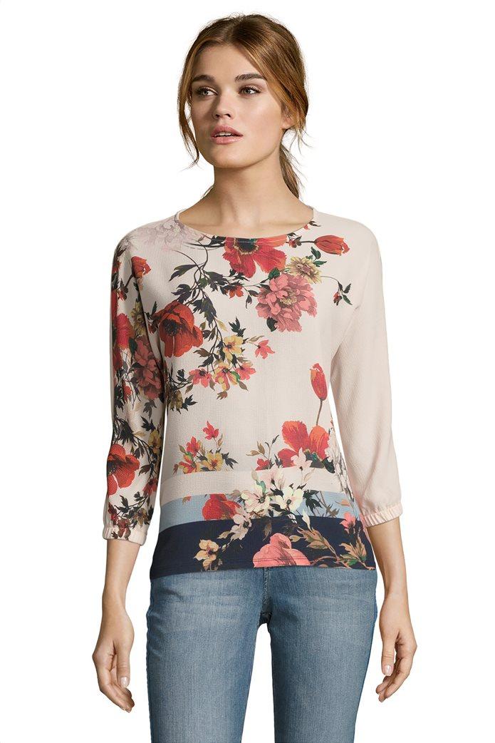BΕΤΤΥ & CO Γυναικεία μπλούζα με rose print 0