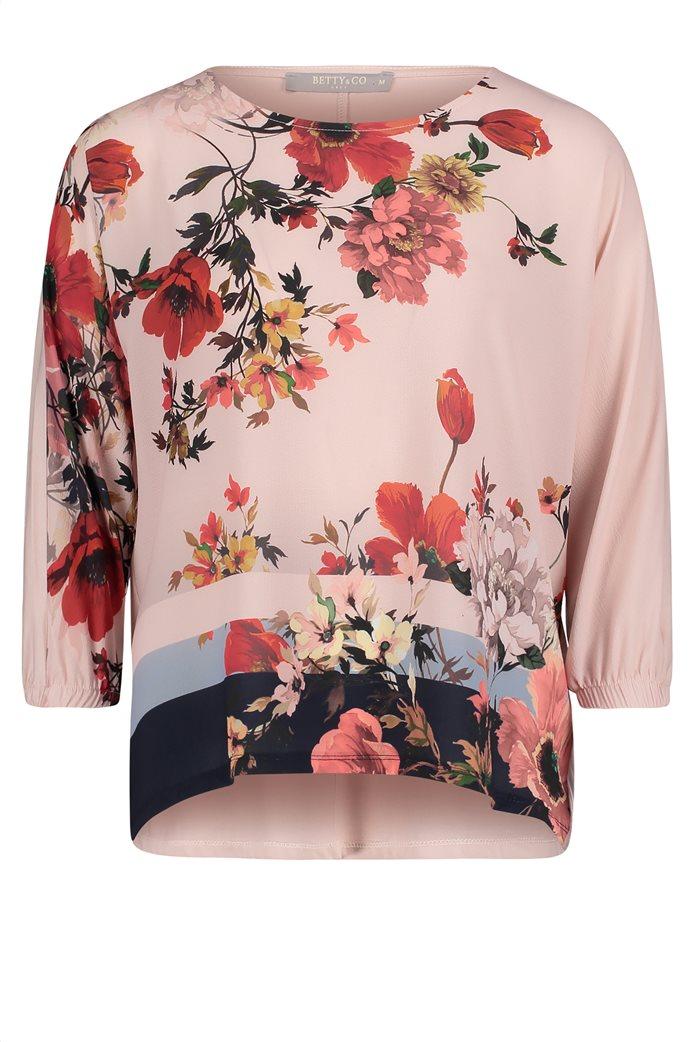BΕΤΤΥ & CO Γυναικεία μπλούζα με rose print 3