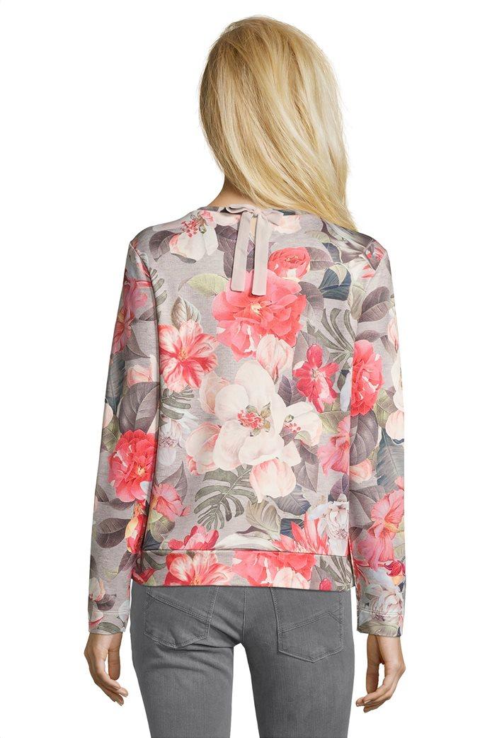 BΕΤΤΥ & CO Γυναικεία μπλούζα με μεγάλο φλοράλ print 1