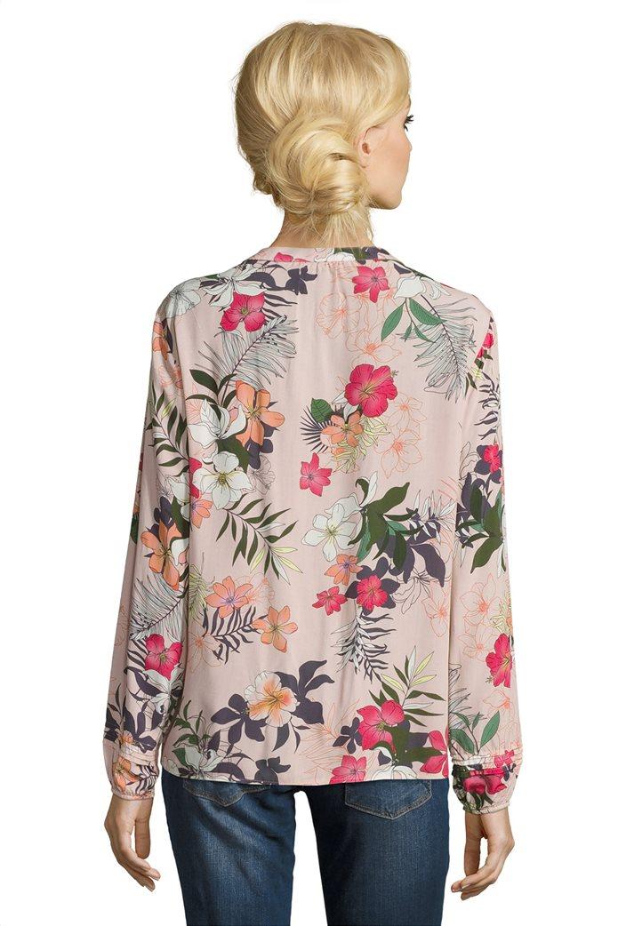 BΕΤΤΥ & CO Γυναικεία μπλούζα V με all over φλοράλ print 1