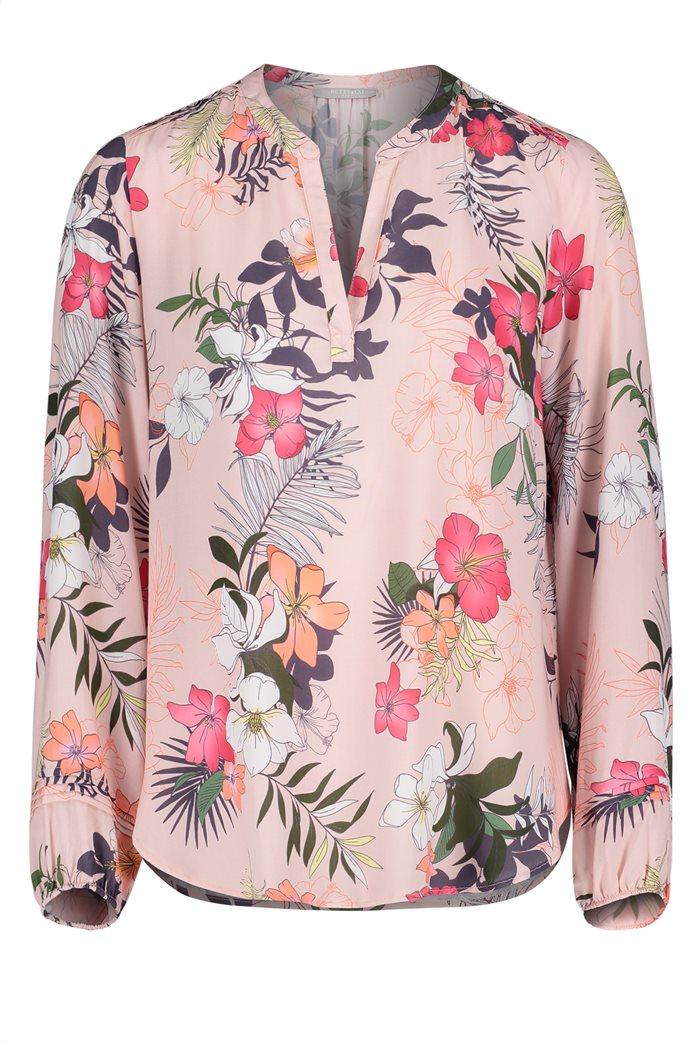 BΕΤΤΥ & CO Γυναικεία μπλούζα V με all over φλοράλ print 3