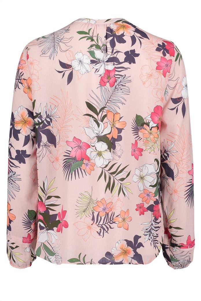 BΕΤΤΥ & CO Γυναικεία μπλούζα V με all over φλοράλ print 4