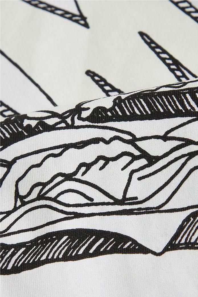 Name It Παιδικό T-shirt με τύπωμα Hamburger Keep Calm and Eat 3