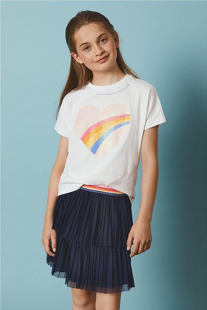 Name It Παιδική φούστα τούλι μονόχρωμη με λάστιχο στη μέση Μπλε Σκούρο 0