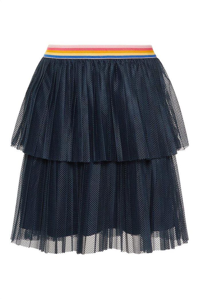 Name It Παιδική φούστα τούλι μονόχρωμη με λάστιχο στη μέση Μπλε Σκούρο 2