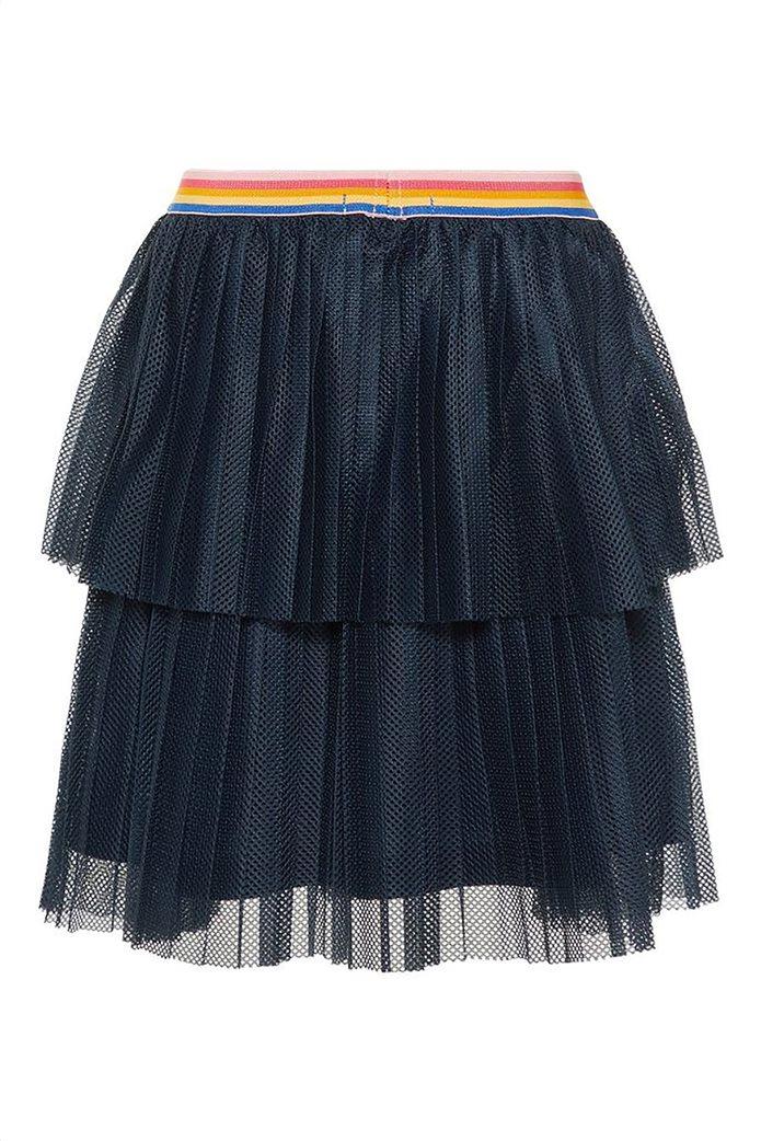 Name It Παιδική φούστα τούλι μονόχρωμη με λάστιχο στη μέση Μπλε Σκούρο 3