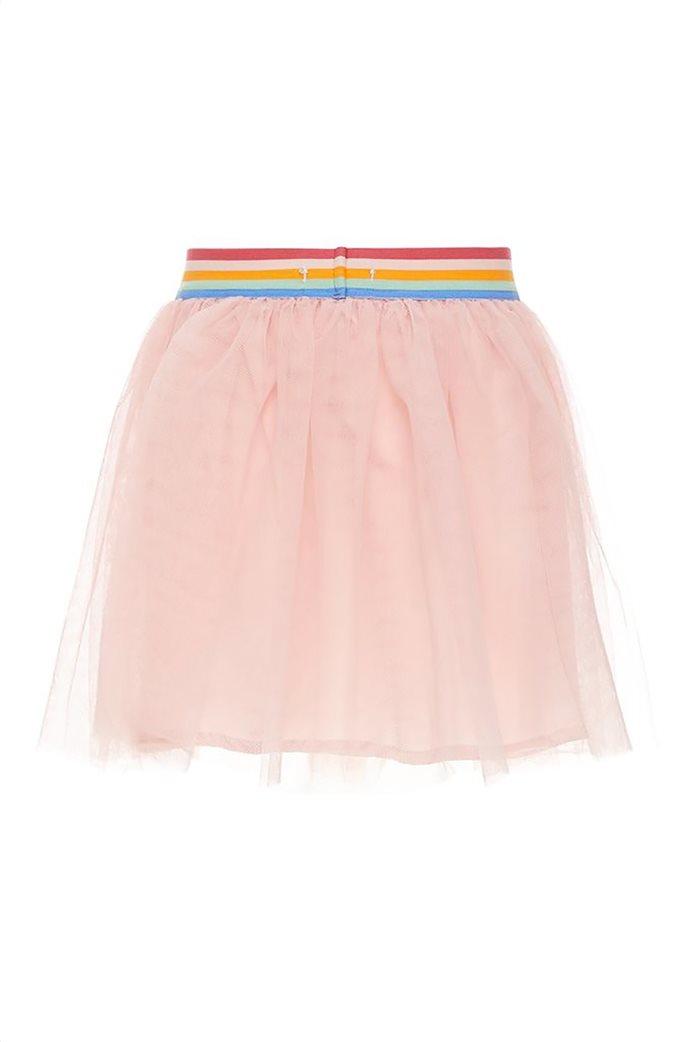 Name It Παιδική φούστα τούλι μονόχρωμη με απλικέ σχέδια και λάστιχο στη μέση 2