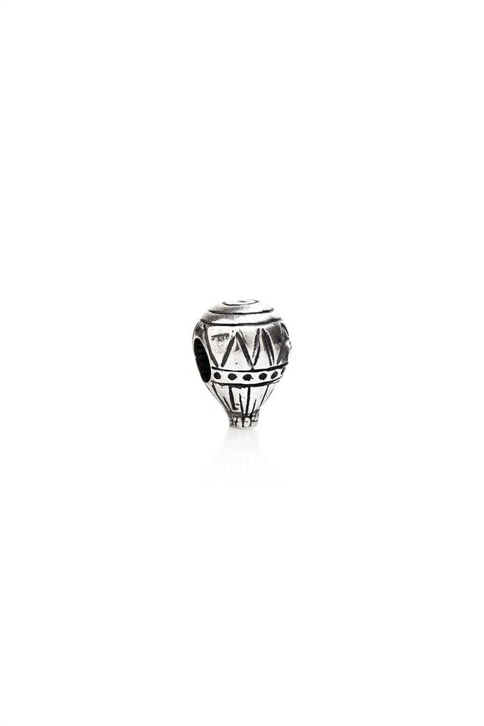 Tedora ασημένιο μεταλλικό charm Hot Air Balloon 0