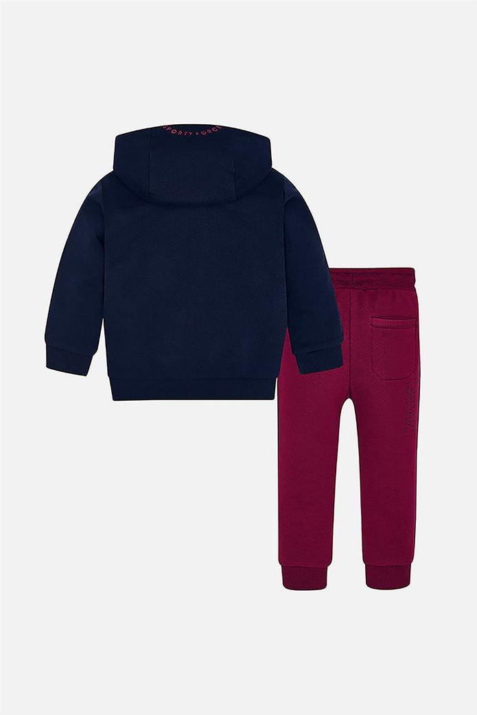 Mayoral παιδικό σετ ρούχων με φόρμα και φούτερ με κουκούλα (2- 9 χρονών) 1
