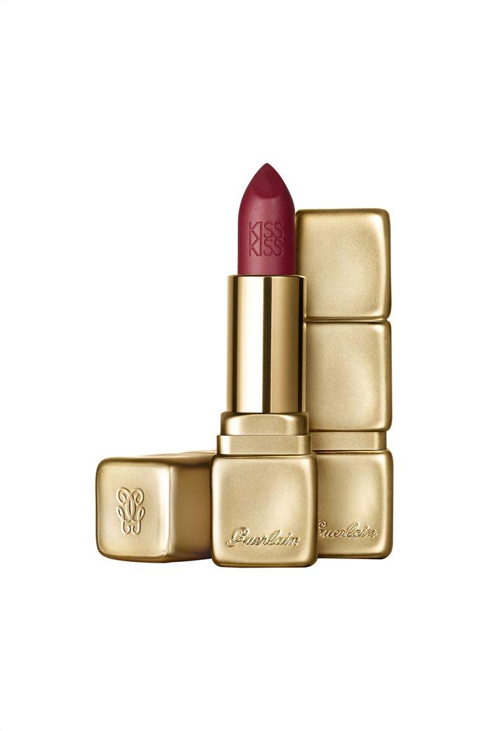 Guerlain KissKiss Matte Hydrating & Plumping Velvet Matte Lip Colour M377 Wild Plum 3,5 gr.  0