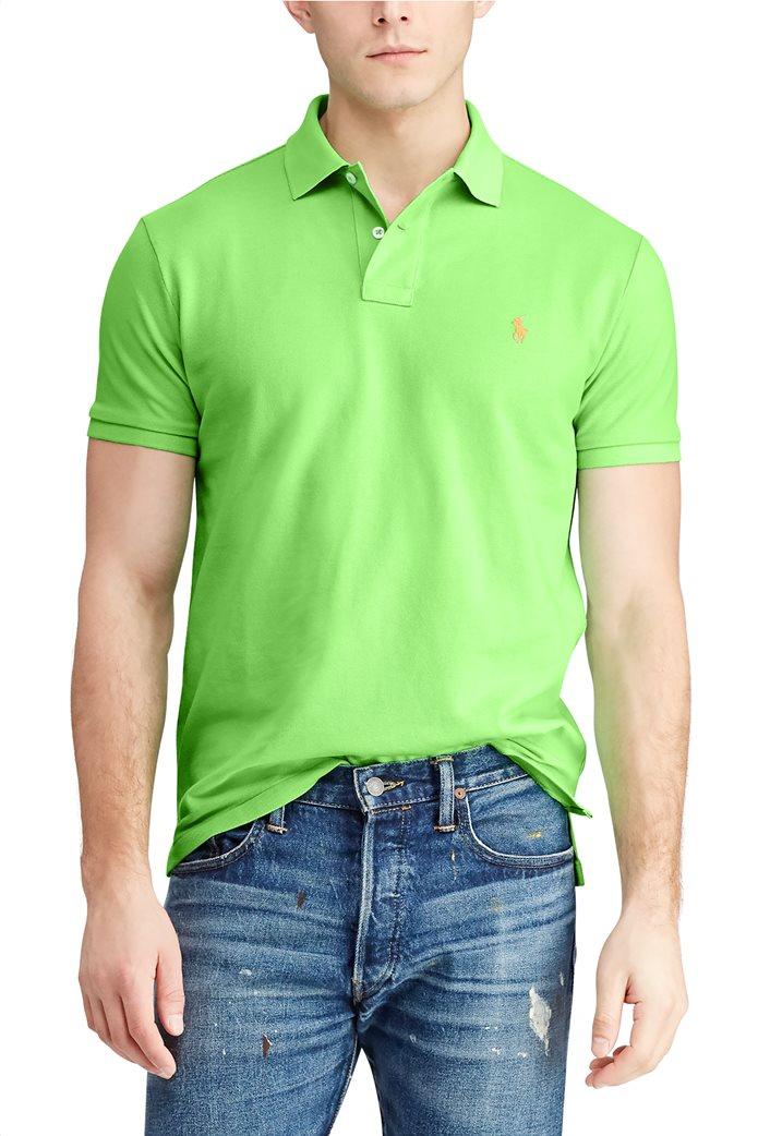 Polo Ralph Lauren ανδρική πόλο μπλούζα κοντομάνικη Slim fit 0