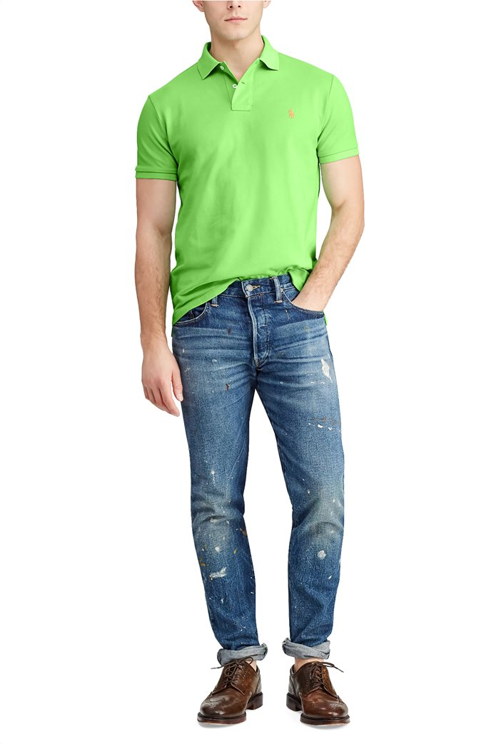Polo Ralph Lauren ανδρική πόλο μπλούζα κοντομάνικη Slim fit 1