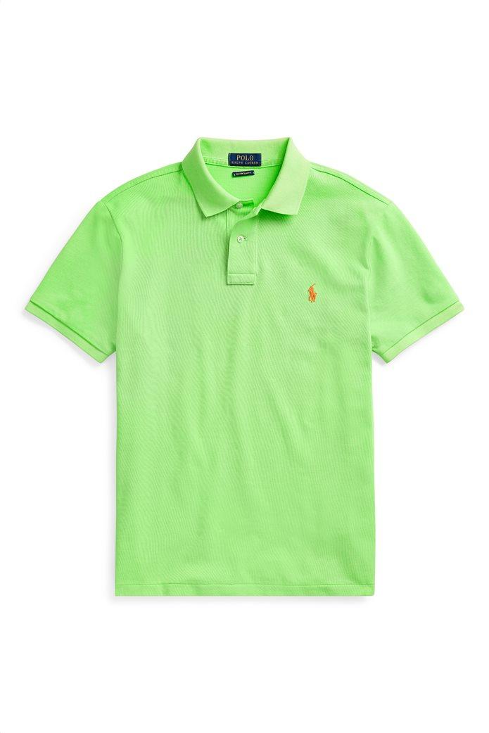 Polo Ralph Lauren ανδρική πόλο μπλούζα κοντομάνικη Slim fit 3