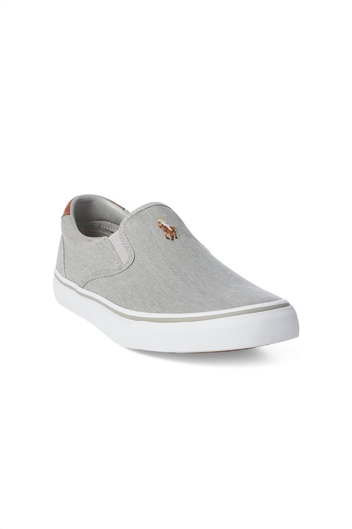 "Polo Ralph Lauren ανδρικά sneakers slip-on μονόχρωμα "" Thompson Washed Twill "" 0"