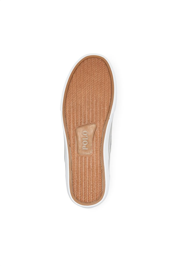"Polo Ralph Lauren ανδρικά sneakers slip-on μονόχρωμα "" Thompson Washed Twill "" 3"