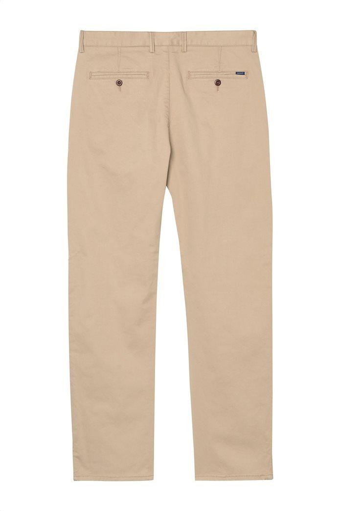 Gant ανδρικό παντελόνι chino Regular Fit Twill (34L) 1