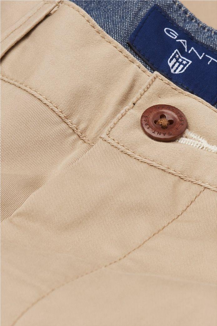 Gant ανδρικό παντελόνι chino Regular Fit Twill (34L) 2