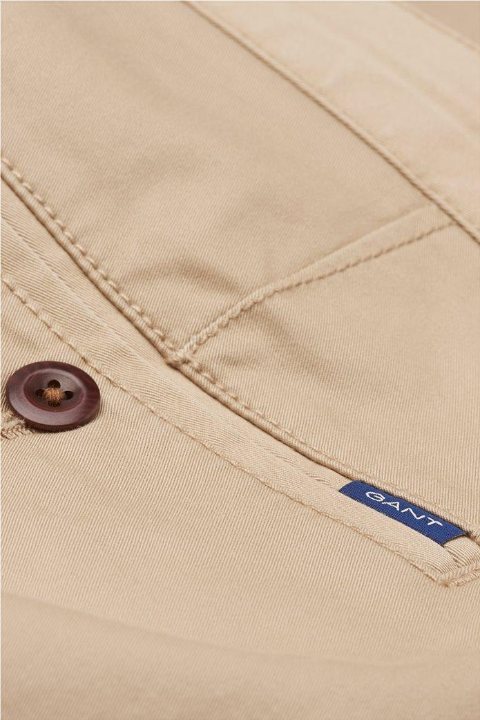 Gant ανδρικό παντελόνι chino Regular Fit Twill (34L) 3