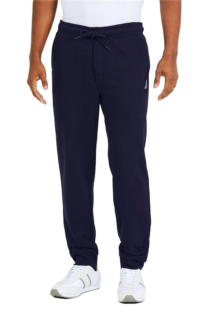Nautica ανδρικό παντελόνι φόρμας Sport style sweater Μπλε Σκούρο 0