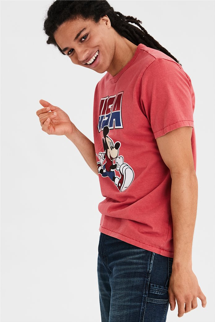 AE USA Mickey Mouse Graphic T-Shirt 0