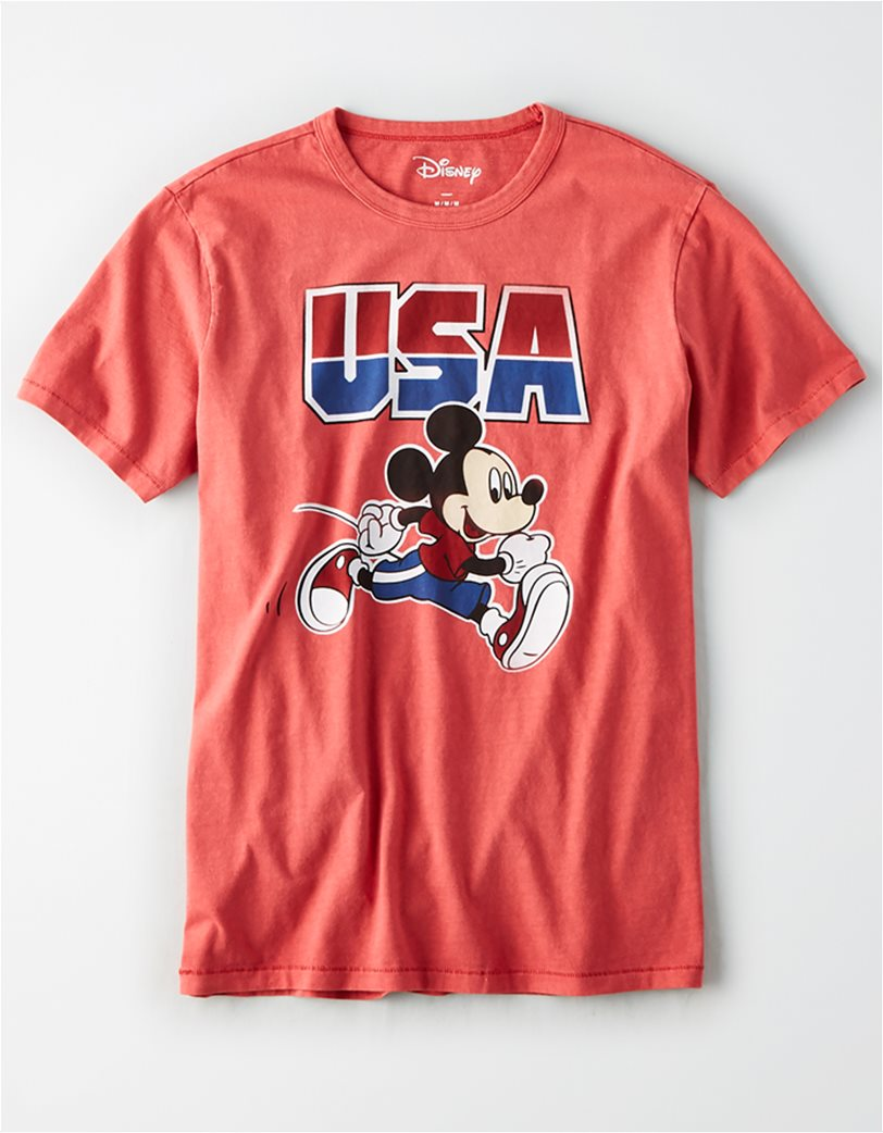 AE USA Mickey Mouse Graphic T-Shirt 2