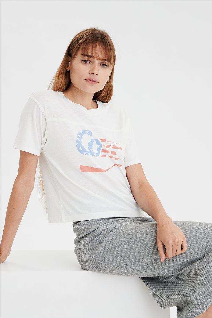 AE Vintage Coke Graphic T-Shirt Λευκό 0