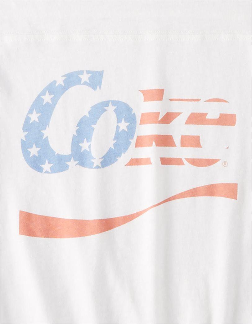 AE Vintage Coke Graphic T-Shirt Λευκό 3