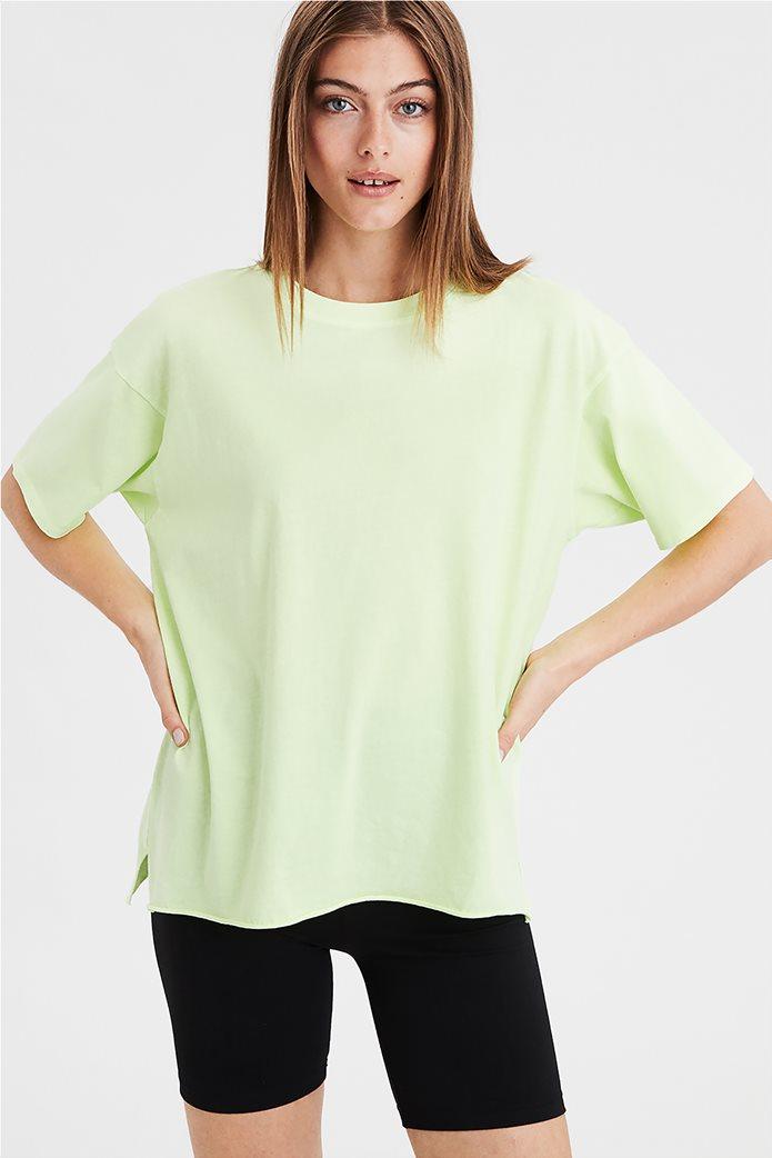AE Oversized T-shirt Πράσινο Ανοιχτό 0