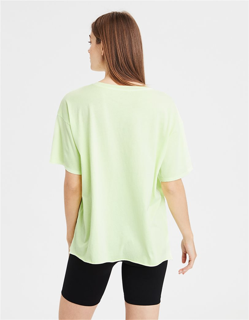 AE Oversized T-shirt Πράσινο Ανοιχτό 1