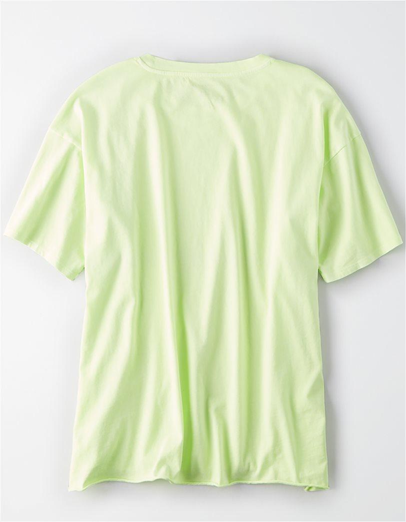 AE Oversized T-shirt Πράσινο Ανοιχτό 3