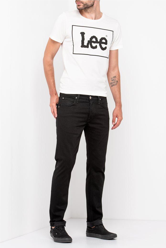 "Lee ανδρικό τζην παντελόνι ""Daren regular slim"" Clean Black 0"
