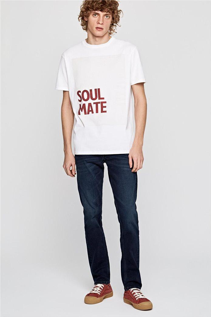 Pepe Jeans ανδρικό T-shirt με letter print Henry 0