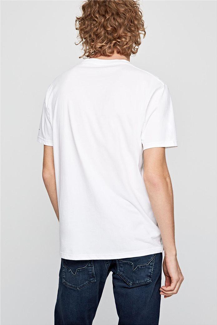 Pepe Jeans ανδρικό T-shirt με letter print Henry 3