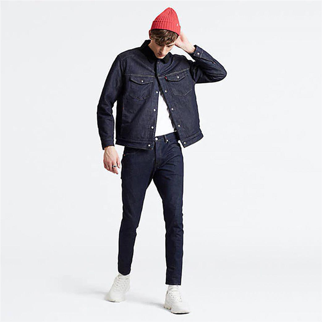 Levi's® ανδρικό τζην παντελόνι Engineered Jeans™ 512™ Slim Taper (32L) Rinse Μπλε Σκούρο 2