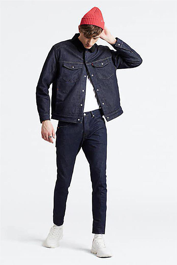 Levi's® ανδρικό τζην παντελόνι Engineered Jeans™ 512™ Slim Taper (34L) Rinse Μπλε Σκούρο 0