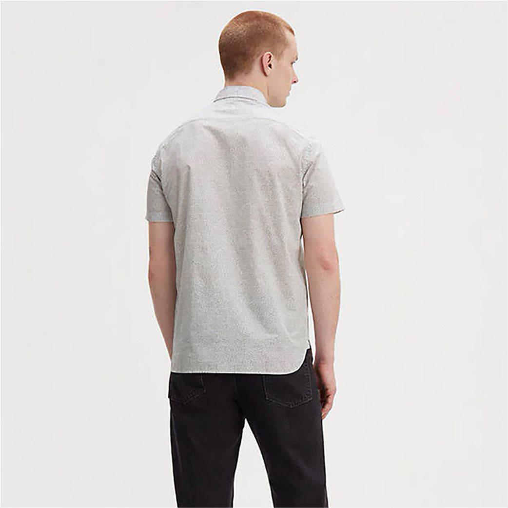 Levi's® ανδρικό πουκάμισο με μικροσχέδια print all-over Sunset Λευκό 1