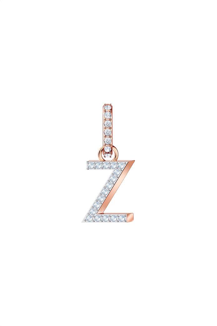 Swarovski Remix Collection Charm Z,  Rose gold plating 0