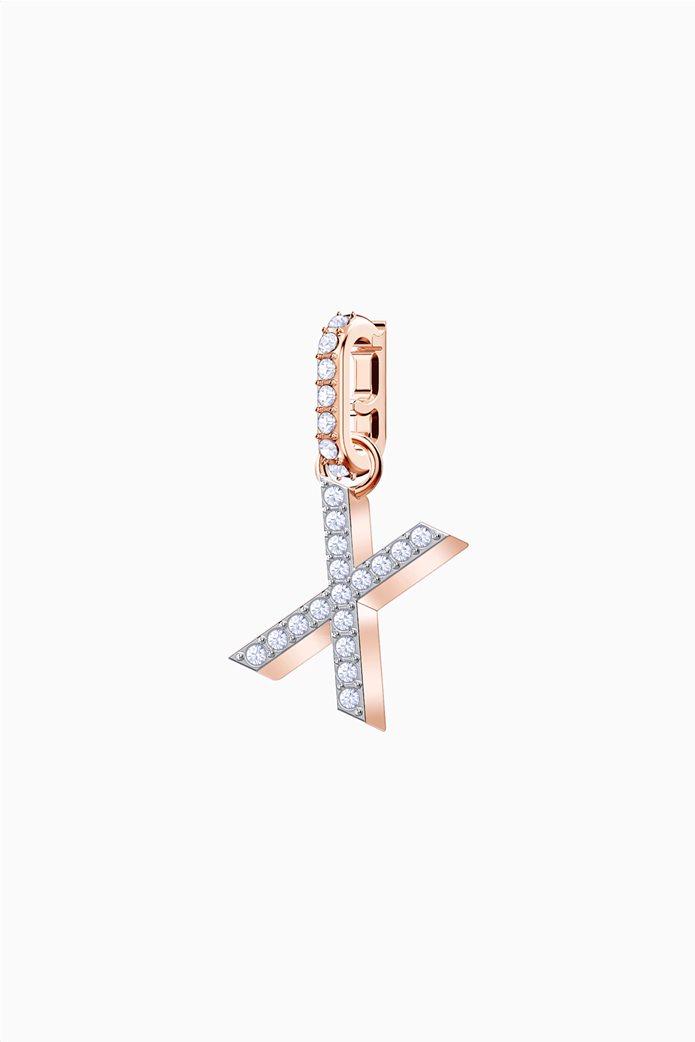 Swarovski Remix Collection Charm X, Rose gold plating 0